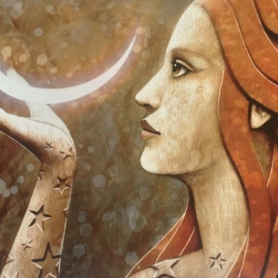 moon stars feminine
